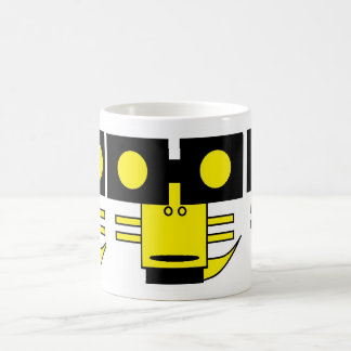 Mug monstre carré jaune