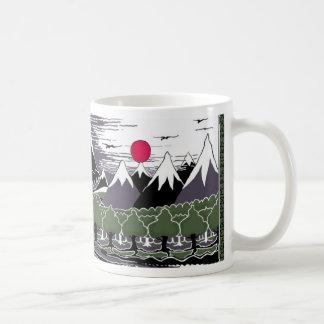 Mug Montagnes et arbres