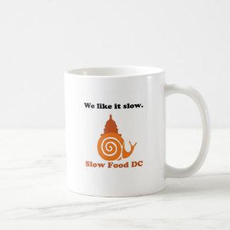 Mug Montrez votre fierté lente de C.C de nourriture !