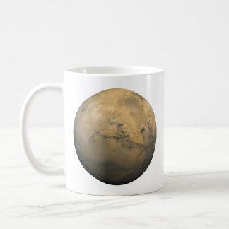 Mug Mosaïque globale de Mars