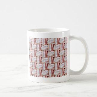 Mug Motif carrelé d'armure de lard