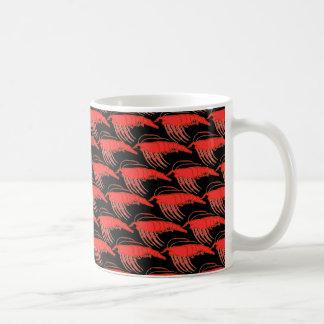 Mug Motif de Krill dans le noir