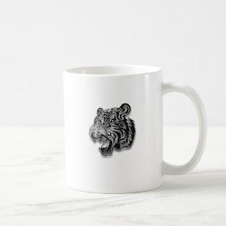 Mug Motif de panthère d'empreinte de léopard de Jaguar