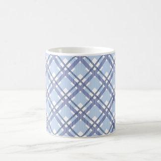 Mug Motif de tartan des rayures et des carrés