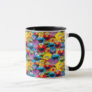 Mug Motif d'équipage de Sesame Street