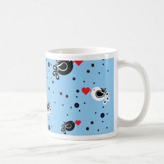 Mug motif d'oiseaux