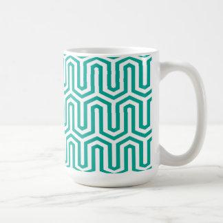 Mug Motif égyptien de Deco - bleu et blanc de