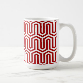 Mug Motif égyptien de Deco - rouge et blanc