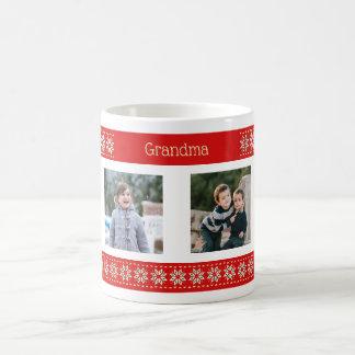 Mug Motif fait sur commande de Noël de photos des