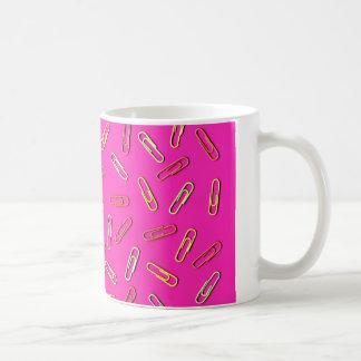 Mug Motif MIGNON de trombone sur le rose