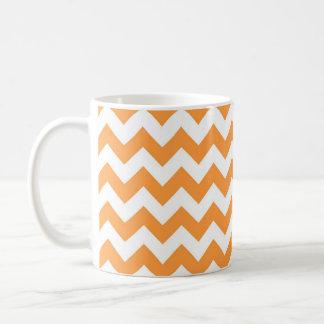 Mug Motif orange de Chevron