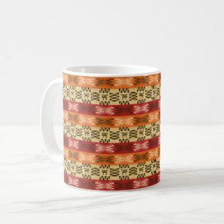 Mug motif sans couture africain ethnique