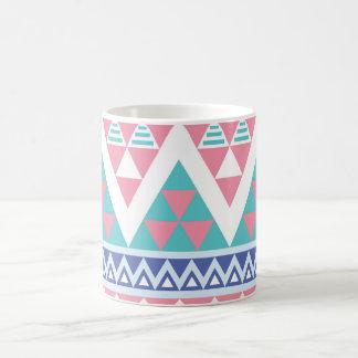 Mug Motif tribal sans couture aztèque traditionnel