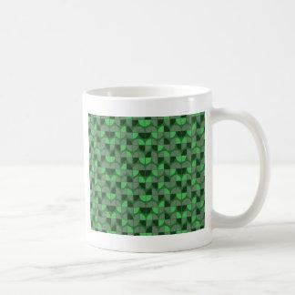 Mug Motif vert sans couture élégant