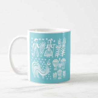 Mug Motif vintage de Pyrex - blanc de Butterprint