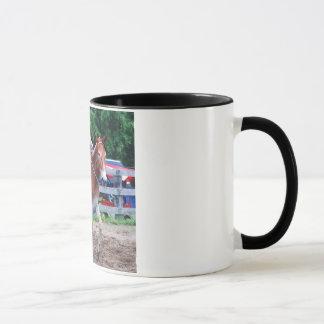 Mug mule dans l'exposition