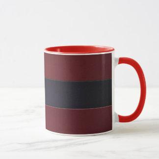 Mug Mur de bande en rouge