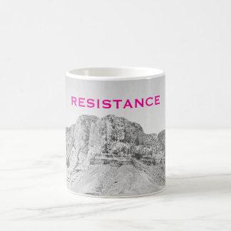 Mug Mur du rose occidental du Texas de résistance