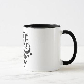 Mug Music Flower