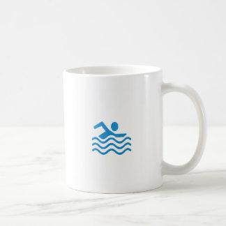 Mug Nageur 101 de bain de succès de natation du