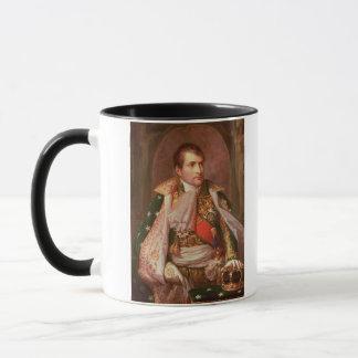 Mug Napoleon Bonaparte (1769-1821), comme roi de