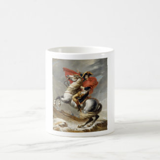 Mug Napoléon croisant les Alpes -- Jacques-Louis David