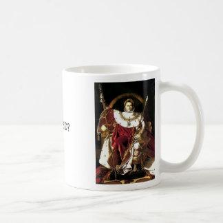 Mug Napoléon l'empereur, napoléon l'empereur, WWNBD ?