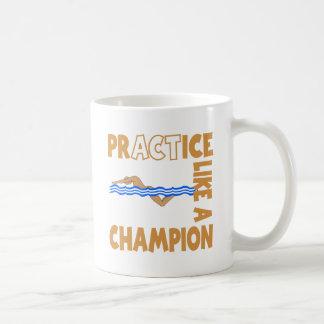 Mug Natation de pratique, or