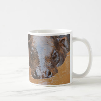 Mug Natation d'hippopotame