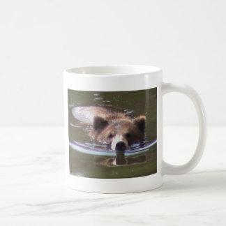 Mug Natation d'ours de Brown