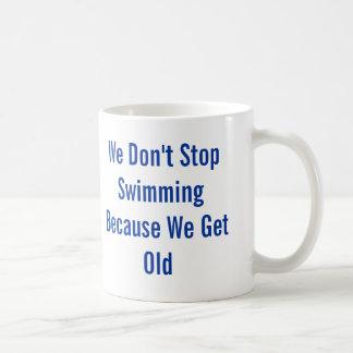 Mug Ne cessez pas la natation
