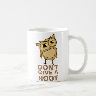 Mug Ne donnez pas une huée