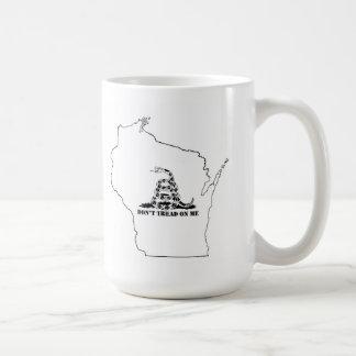 Mug Ne marchez pas sur le Wisconsin
