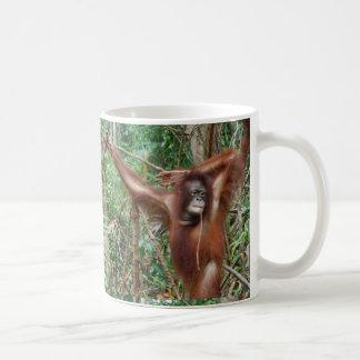 Mug Ne me détestez pas pour être de belles singes