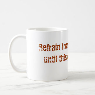 Mug Ne me parlez pas ! ! !