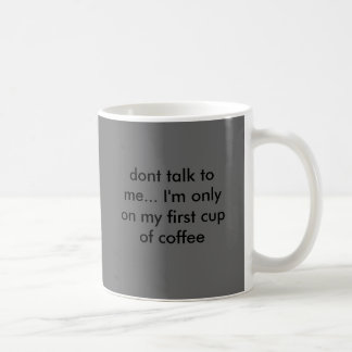 Mug ne me parlez pas… Je suis seulement sur ma