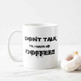 Mug Ne parlez pas