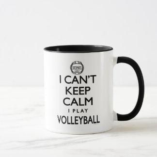 Mug Ne peut pas garder le volleyball calme