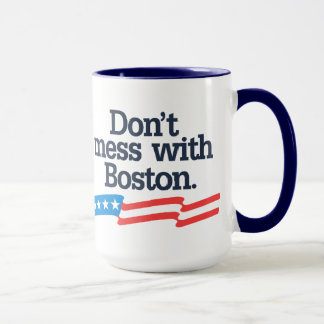 Mug Ne salissez pas avec Boston