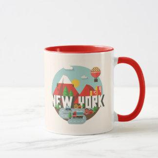 Mug New York dans la conception