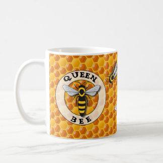Mug Nid d'abeilles de reine des abeilles