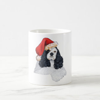 Mug Noël américain de cocker