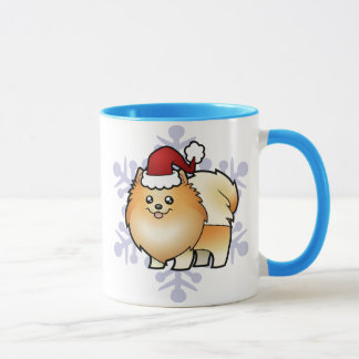 Mug Noël Pomeranian