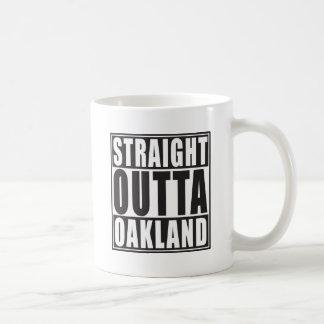 Mug Noir droit d'Outta Oakland