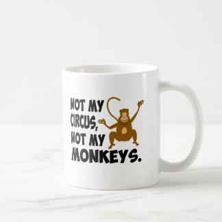 Mug Non mon cirque