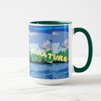 Mug Nous allons à la nature