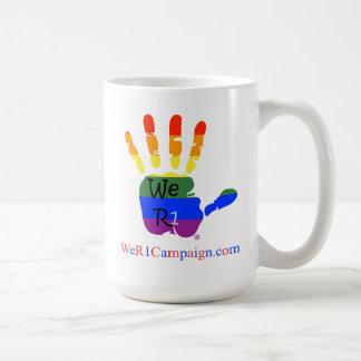 Mug Nous mains de l'arc-en-ciel R1