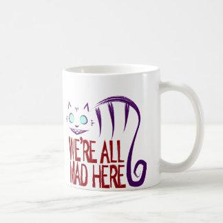 Mug Nous sommes tous fous ici