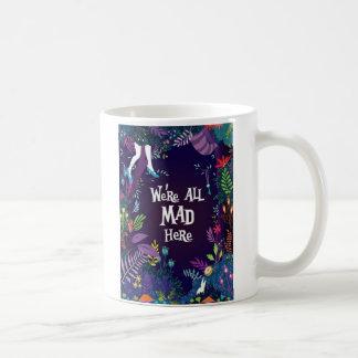 Mug Nous sommes tous fous ici d'Alice dans le film du