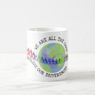 Mug Nous sommes tous les mêmes